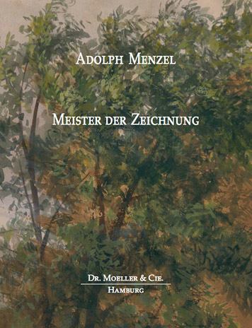 Adolph Menzel Master Draughtsman