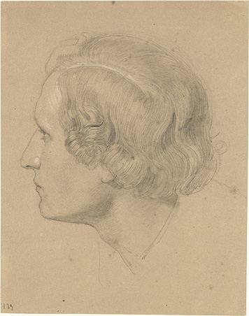 Head of a young Man in profile