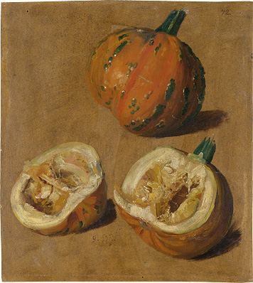 Studies of two Pumpkins