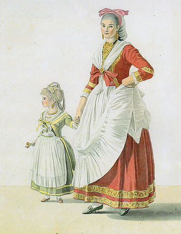 Rosalina Scala with her Daughter